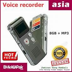 jual alat perekam suara 8gb mp3 rekam di lapak asia amam7