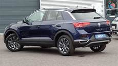 Volkswagen New T Roc 2018 Style Atlantic Blue Metallic 17