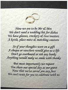 Gift Poems For Weddings