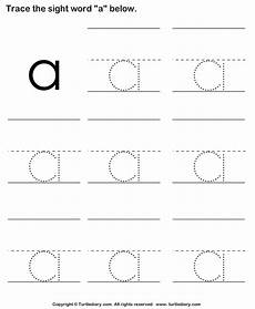letter d sight word worksheets 24247 sight word a tracing sheet worksheet turtle diary
