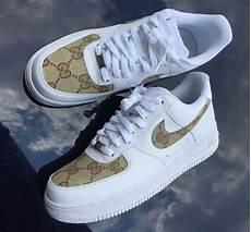custom gucci air 1 nike sneakers in 2019