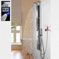 Edelstahl Fingerabdrücke Verhindern - edelstahl led duschpaneel sanlingo duschs 228 ule mit