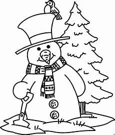 Ausmalbilder Weihnachten Schneemann Schneemann Mit Zylinder Ausmalbild Malvorlage Comics