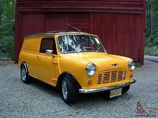 Austin Mini Van  Car Classics