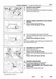 manual repair free 2004 lexus gx transmission control 1999 lexus lx 470 lx470 service repair manual