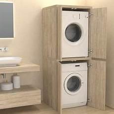 ideen f 252 r waschmaschine und trockner in einbauschrank