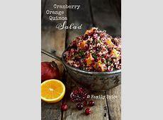 cranberry orange quinoa salad_image
