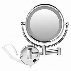 finether beleuchteter kosmetikspiegel mit led licht 360
