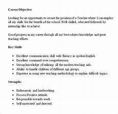 free 7 resume for freshers templates in free sles