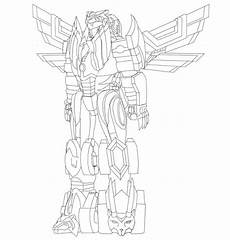 dino charge megazord coloring pages 16839 savage strike megazord lineart by heavenlymythicranger on deviantart