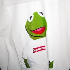 supreme xl wallpaper crossover supreme x kermit frog
