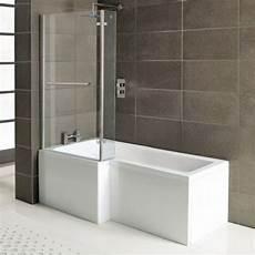 Raumspar Badewanne Mit Dusche - raumspar badewanne syna mit duschzone 167 5x85 70 cm