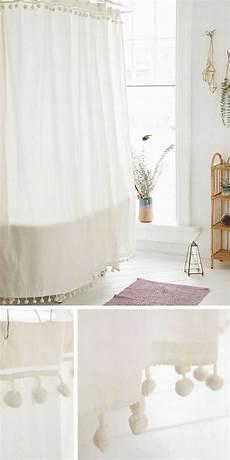 rideau salle de bain tissu 70 id 233 es originales 224 piquer pour relooker votre salle de