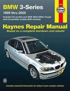 car repair manual download 1999 bmw m3 parking system bmw 3 series and z4 haynes repair manual 1999 2005 hay18022