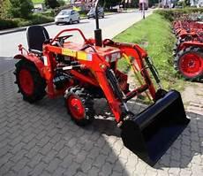 traktor mit frontlader kaufen kleintraktor allrad traktor kubota b7001d frontlader neu