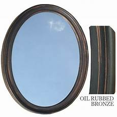 rubbed bronze mirror bathroom bathroom mirror vanity oval framed wall mirror rubbed