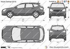 Nissan Qashqai Vector Drawing