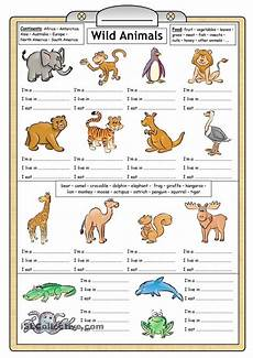 animals worksheets exercises 13776 learning about animals for worksheets search hautututanga for