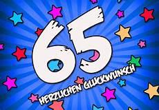65 geburtstag gl 252 ckw 252 nsche und spr 252 che