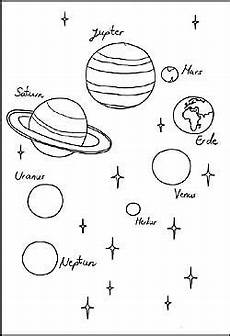 Malvorlagen Planeten Und Sterne Weltraum Gratis Malvorlagen Und Ausmalbilder Planeten