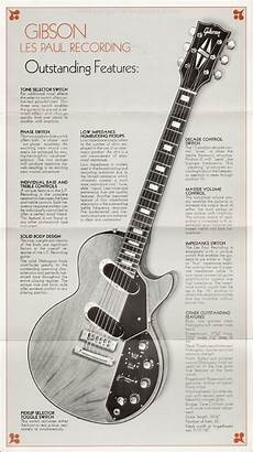 recording guitar gibson les paul recording showcase 1972 part 1