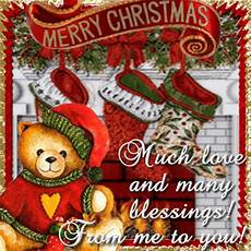 merry christmas much love many blessings from me to you pictures photos and images for