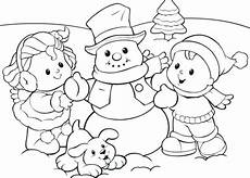 30 free snowman coloring pages printable