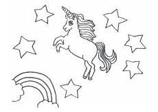 Einfache Malvorlage Einhorn Ausmalbild Einhorn Fabelwesen Einh 246 Rner Unicorn