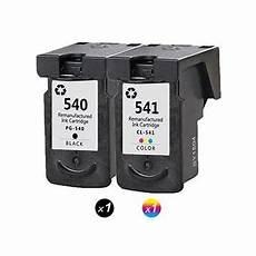 encre canon mg4250 lot de 2 cartouche d encre pg 540 cl 541 compatible pour canon pixma mg4250 mg2250 mf2150 pack