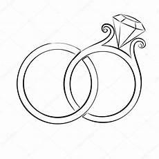 wedding rings skech stock vector 169 simeon vd 83138474