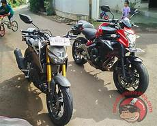 Xabre Modif Moge by Xabre Vs Er6n 4 Monkeymotoblog