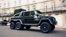 Mercedes G 6x6 Brabus - drive the brabus 6x6 takes on