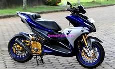 Motor Aerox Modifikasi by 100 Gambar Desain Modifikasi Motor Yamaha Aerox S Keren