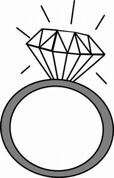 engagement ring clipart clipartion com