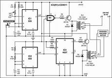 Wiring Diagram Of Washing Machine Motor by Washing Machine Motor Controller Project Available