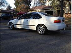 FS/FT 1995 Honda Civic EX White 2dr Coupe Built Turbo GSR