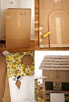 How To Build The Most Simple Cardboard House Activities