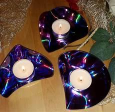 Basteln Mit Alten Cds - teelichter aus alt mach neu spielerein mit alten cds