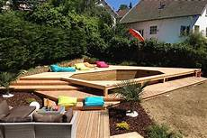 amenagement piscine en bois amenagement piscine bois hors sol