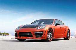 2012 Porsche Panamera Stingray GTR  Top Speed