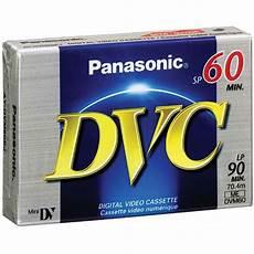 panasonic mini dv cassette panasonic ay dvm60ej mini dv cassette 60 minutes ay dvm60ej