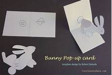 free printable easter pop up card templates free printable easy pop up bunny card for to make
