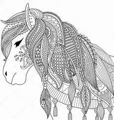 Ausmalbilder Pferde Schwer Ausmalbilder Pferde
