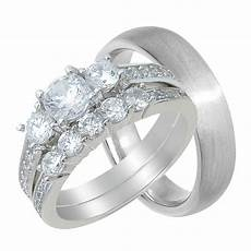 laraso co his and hers wedding ring cheap wedding