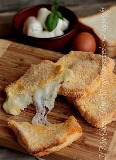 mozzarella in carrozza forno mozzarella in carrozza al forno ricetta il mio saper fare