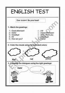 easy worksheets for beginners 19174 easy test esl worksheet by drica