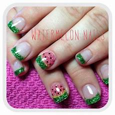 watermelon nails watermelon nails little girl nails