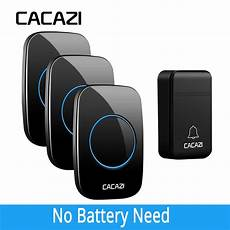 Cacazi Fa86 Self Powered Wireless Doorbell by Cacazi New Fa12 Self Powered Wireless Doorbell Waterproof