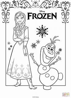 Frozen Malvorlagen Free Coloring Pages The Frozen Coloring Pages Free