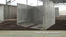 Poundfield Products L Bloc Concrete Retaining Wall